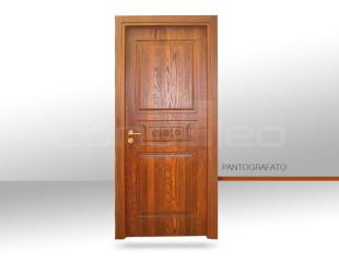 P 015/3 DECORO- BROWN ASH TINTO NOCE SCURO