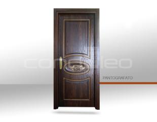 P 031 3D – BROWN ASH TINTO NOCE E FOGLIA ORO